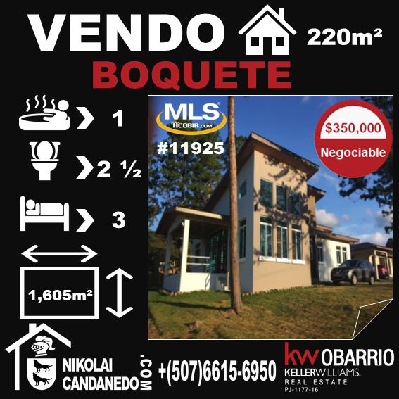 Casa Alto Boquete
